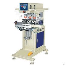 Pneumatic 3 color dongguan spectacle frames tampo printing machine with ink cup