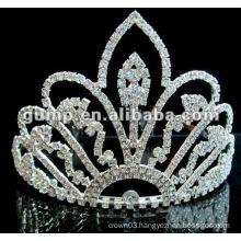 Hot sell wedding bridal tiara comb (GWST12-640)