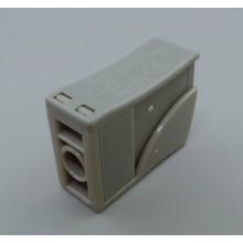 Conector de cable de empuje doméstico con botón de liberación