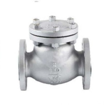 Baja Tuangan Flanged Swing Check Valve
