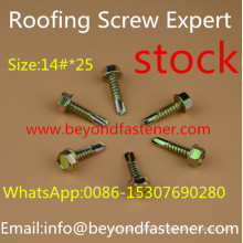 Dacromet Screw Roofing Bolts Bi-Metal Screw Self Drilling Screw