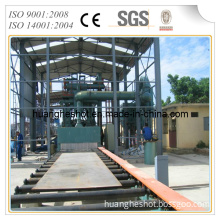 Automatic Roller Conveyor Shot Blasting Machine for Steel Frame