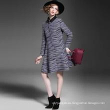Venta al por mayor del abrigo caliente del invierno de las mujeres de la venta caliente del desgaste