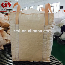 2017 moins cher en vrac sac 1000 kg, FIBC Sac, un tonne / 1.5ton / 2ton sac pour graines de bois de chauffage de sable
