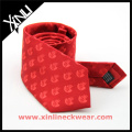Golf Logo Silk Tie Custom Necktie