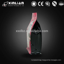 flat bottom gravure printing stand up dried fruit packaging with zipper