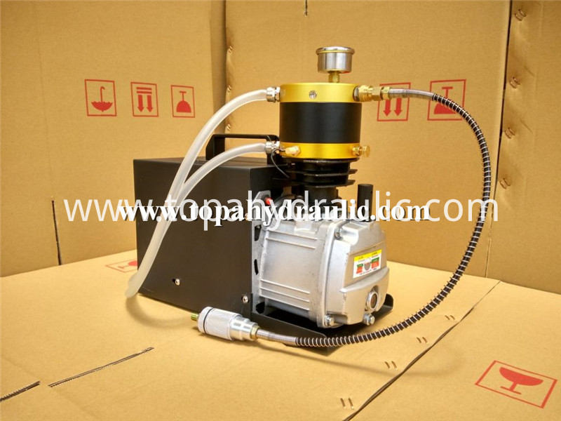 Air Compressor With Jack Hammer