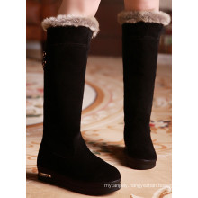 New Style Black Snow Boots / Winter Boots for Women / Flat Heel Boots