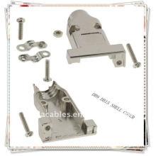 Beige DB9 Abdeckung DB-9 HD15 Metallschale