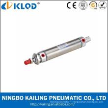 Cylindre d'Air pneumatique Mini corps en acier inoxydable