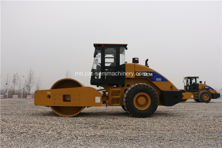 Hydraulic SEM520 Road Roller With Best Price