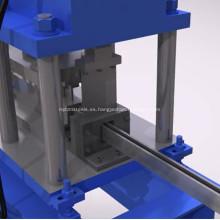 Máquina formadora de rollos de marcos de metal de 41x41 unistrut