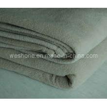 Manta del paño grueso y suave, manta del poliester, hizo punto manta (tacto pesado)