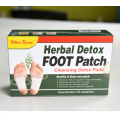 Detox Foot pads Patches 2021 OEM Health Care Products Chinese Herbal Beauty bamboo Detox Foot Patch