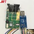 Módulo de sensor de distancia láser de logística de almacén con puerto serie / rs232 / usb