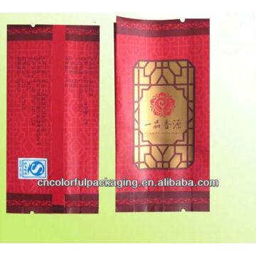 Saquetas individuais de alumínio para chá