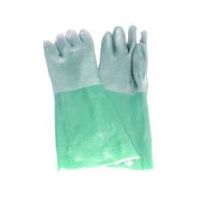 Jersey Liner guante de trabajo con PVC doble sumergido