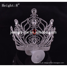 Acessórios para cabelo baratos big pageant crowns china