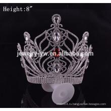 Дешевые аксессуары для волос большие конкурсы короны фарфора