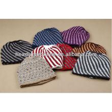Chapéu de malha na moda