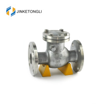 JKTLPC073 loaded lift forged steel flow control 2 in check valve