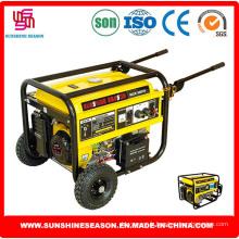 Alimentation de génératrices à essence Type Elepaq (SC6500E2) pour la Construction