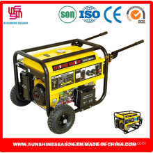 Elepaq Type Gasoline Generators (SC6500E2) for Construction Power Supply