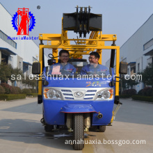 Super quality top sell tricycle-mounted hydraulic core drill rig ideal choice to work in remote location
