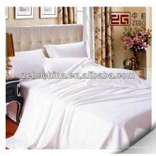 Draps de lit en gros pour l'utilisation d'un hôtel 5 étoiles