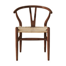 Hot Sale Antique Hans Wegner Designer Metal Y Chair with Rattan Seat (SP-LC289)