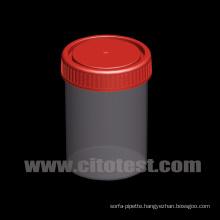 150ml Plastic Specimen Container with Graduation