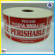 "large supply ""promotional price"" kraft Paper label/sticker"