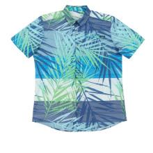 Мужская рубашка из полиэстера и спандекса Fresh