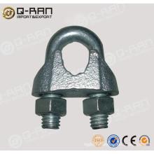 U.S.type câble malléable galvanisée clip de câble malléable