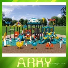 2015 used children colorful outdoor dream playground equipment