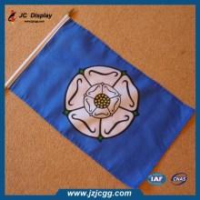 Custom advertising hand shaking flag