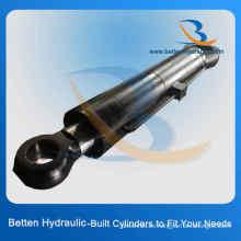 Cilindro hidráulico telescópico de barril de acero inoxidable con precio adecuado