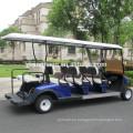 Venta directa de la fábrica de 8 asientos carro de golf eléctrico para hacer turismo, certificado del CE del carro del transbordador