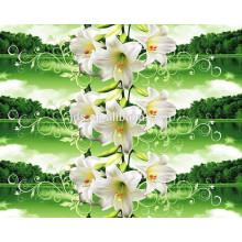 Первоклассное качество полиэфирной пигментной ткани, трехмерная дисперсионная ткань для печати