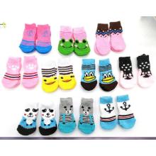 2018 New Design Fashionable Pet Shoe Socks High Quality Comfortable Dog Cat Socks
