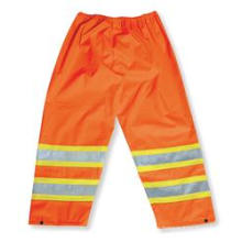 Orange 300 Denier Polyester Rain Pants