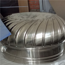 Pemanas udara angin Stainless Steel Turbin Angin