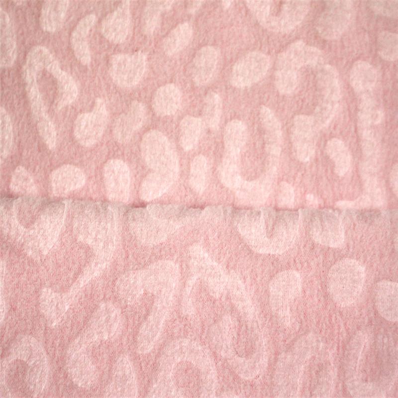 Jacquard Knitting Polar Fleece Jersey Cloth