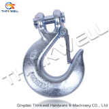 Drop Forged Clevis Slip Hook with Latch