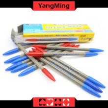 Dedicado Baccarat Pen Color Azul Rojo (YM-PN01) Casino Tabla