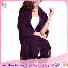 Fábrica da China, elegante, elegante, 100% puro padrão cachemira, pashmina, xale
