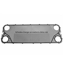 Placa de acero inoxidable para intercambiador de calor de placas de refrigeración de aceite (JQ8S)