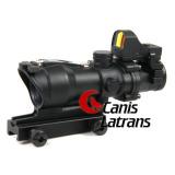 4X32 Acog a-Tacs Scope+Mini Riflescopes Red DOT, Cl1-0159