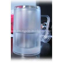 De plástico de doble pared de pared con Freezable líquido (10PD09131)
