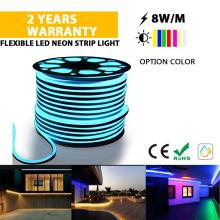 Flexible Neon strip light Ice blue color